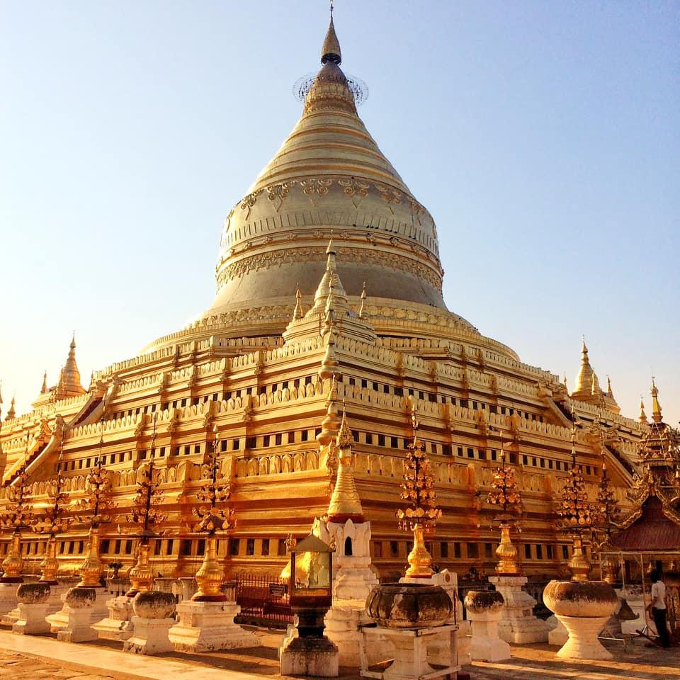พระมหาธาตุเจดีย์ชเวซีโกน (Shwezigon Pagoda)