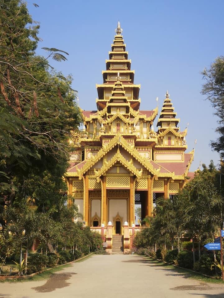 พระราชวังจำลองเมืองพุกาม