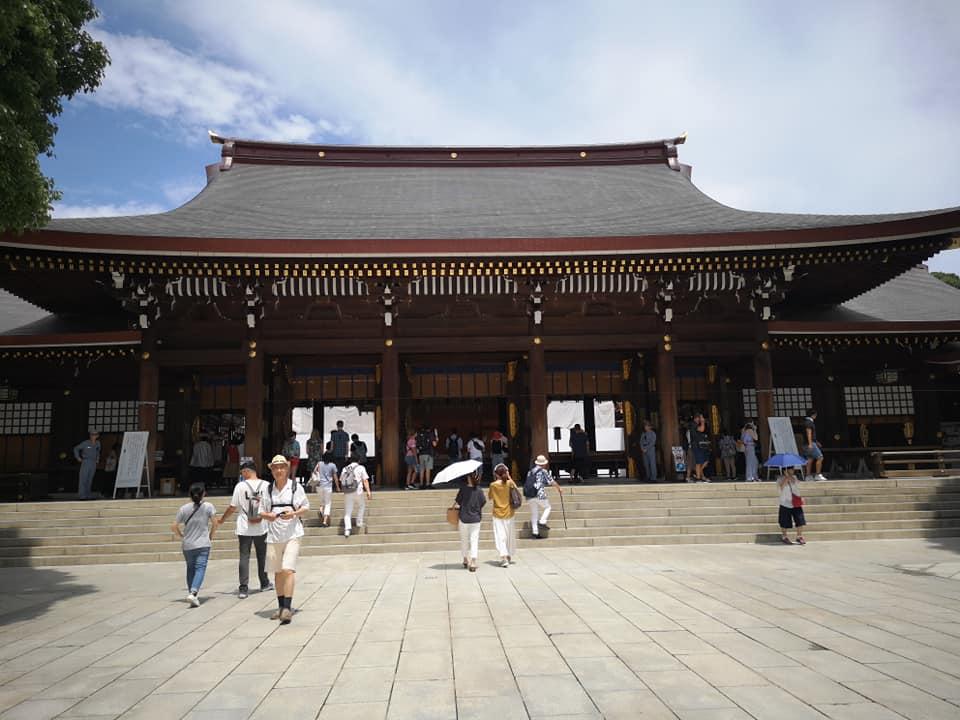 ศาลเจ้าเมจิ Meiji Shrine Tokyo Japan
