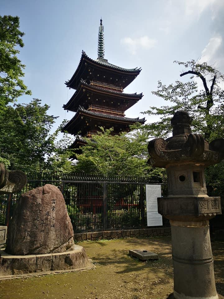 วัด Kan'ei-ji ที่สวนสาธารณะ Ueno