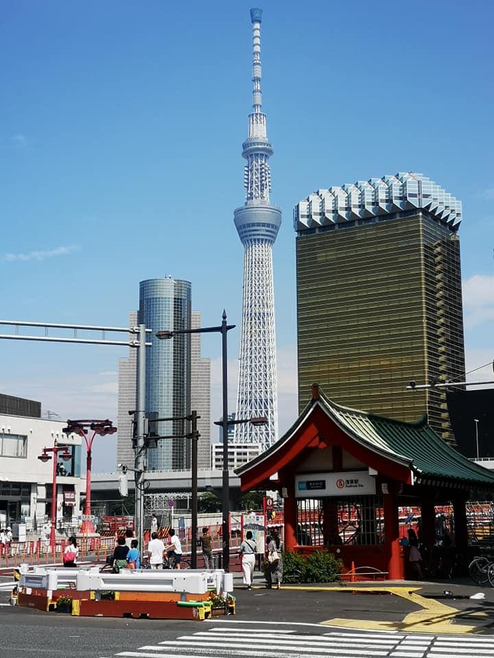 ตึก Tokyo Sky Tree ย่าน Asakusa