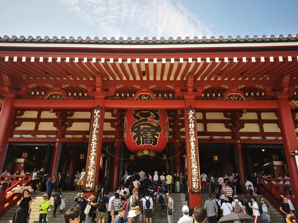 วัดเซ็นโซจิ (Sensoji Asakusa) Tokyo Japan
