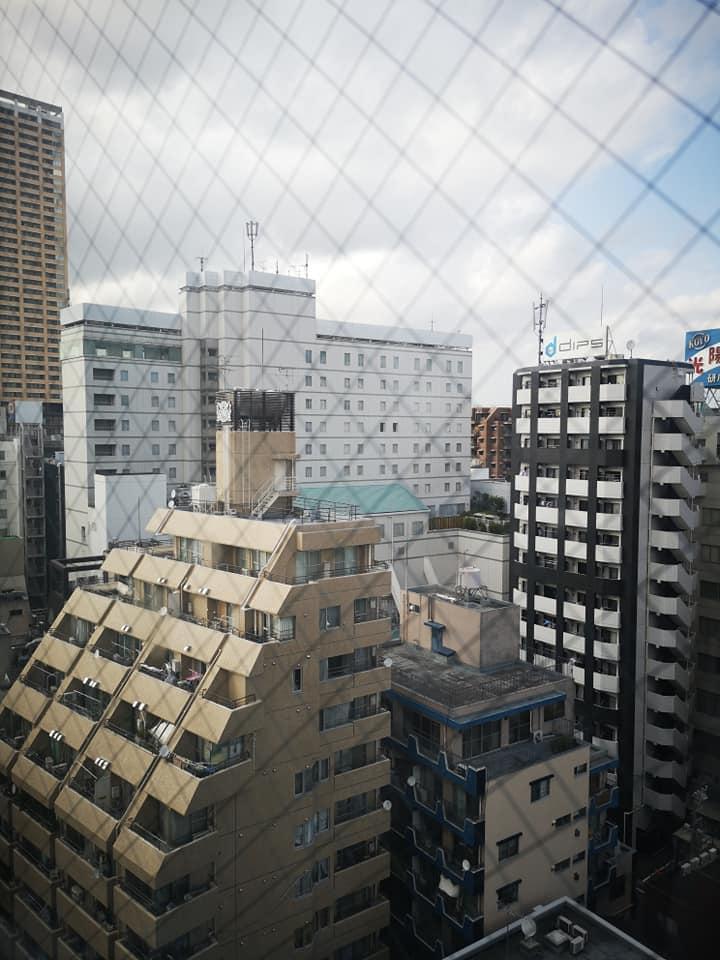 วิวจากห้องพักโรงแรม APA Hotel Nippori Akimae