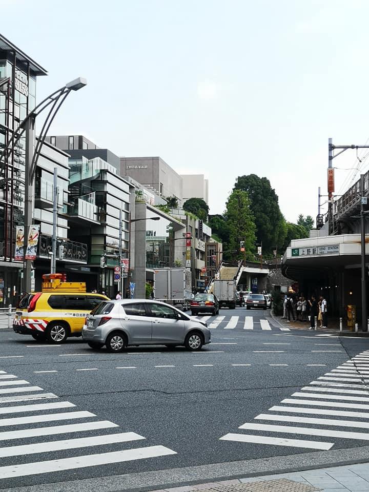 ย่านอุเอโนะ (Ueno) โตเกียว ประเทศญี่ปุ่น