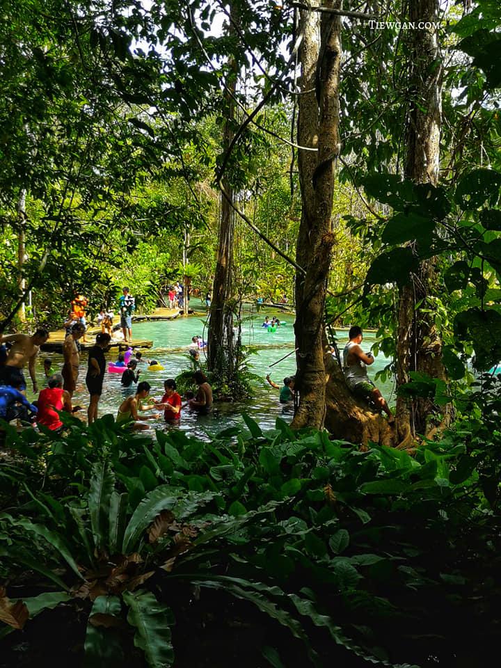 สระน้ำธรรมชาติกลางป่า ป่าต้นน้ำบ้านน้ำราด