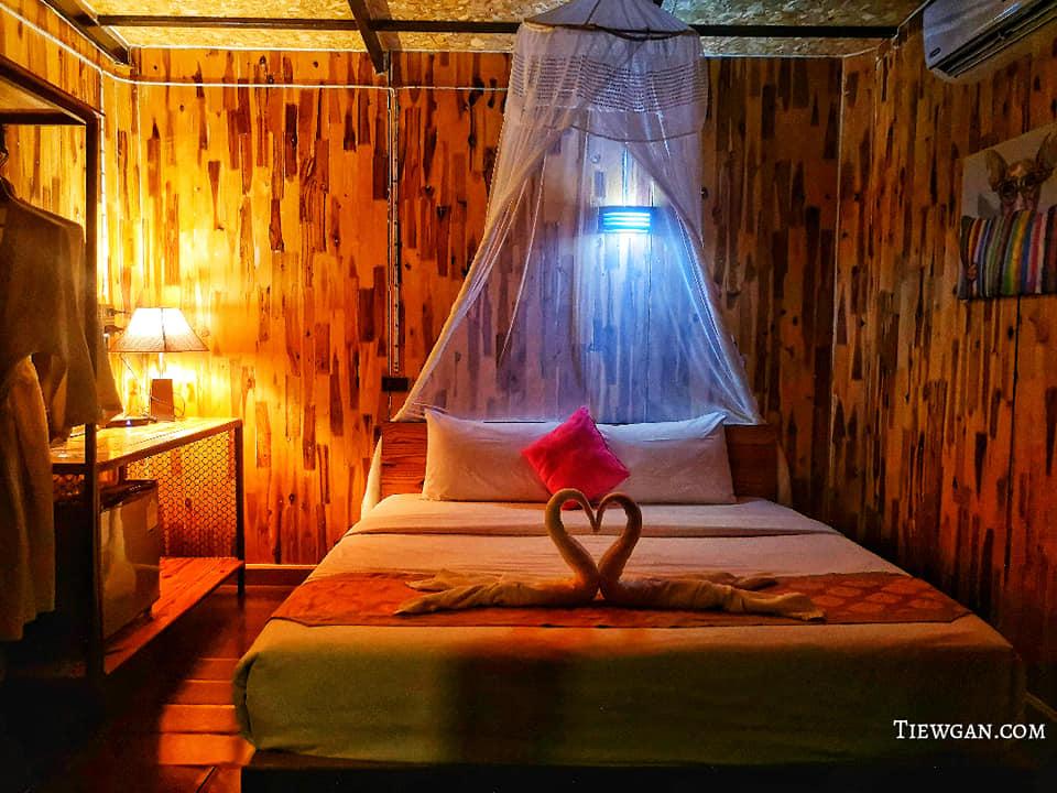 Cheiwlan Camp&Resort บรรยากาศภายในห้องนอน