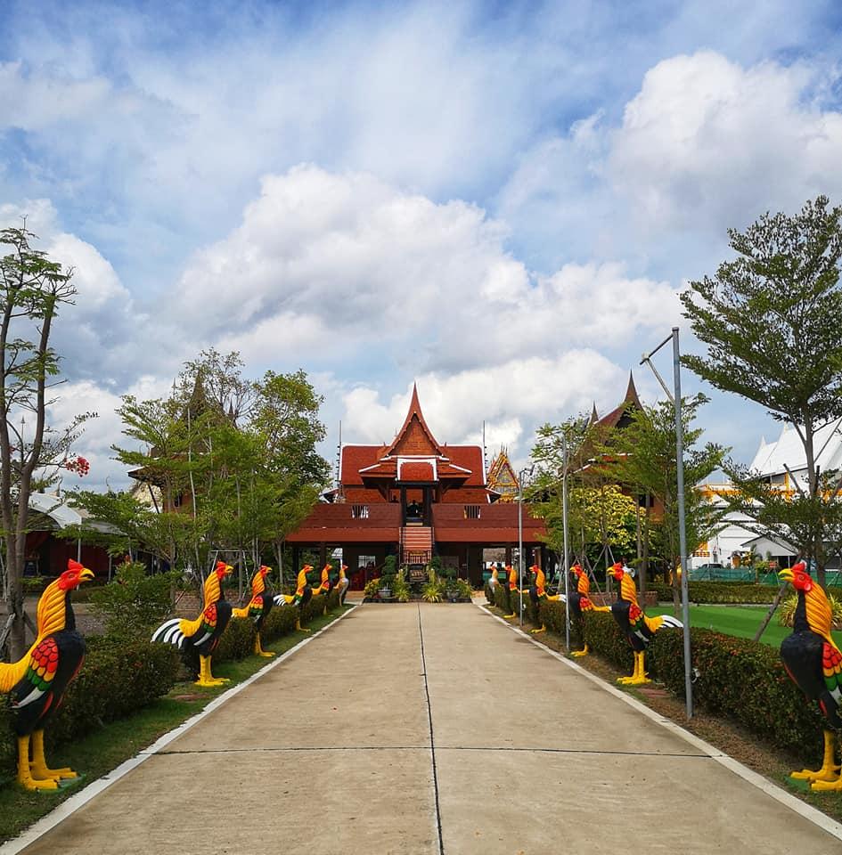 เรือนไทยจำลองที่ประทับพระเจ้าเสือ